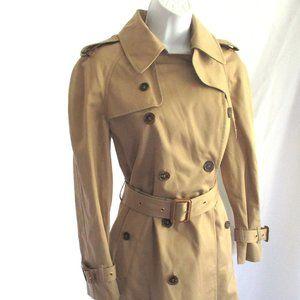 NEW SAINT LAURENT PARIS YSL GABERDINE trench coat